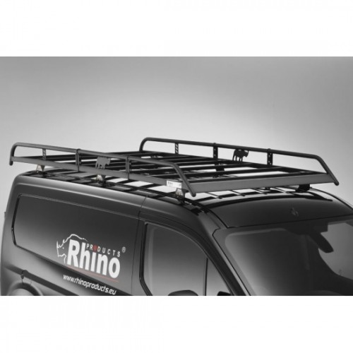 LOW-H1 TWIN REAR Peugeot Expert Roof Rack Bars x3 Rhino With Roller 2007-2016