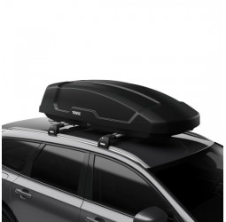 Force XT (400L) Car Roof Box - Black Aeroskin