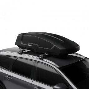 Force XT (400L) Car Roof Box - Black Aeroskin