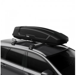 Force XT Sport (300L) Car Roof Box - Black Aeroski