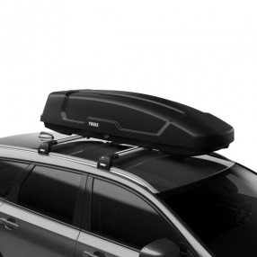 Force XT Sport (300L) Car Roof Box - Black Aeroskin