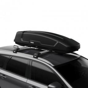 Force XT Sport (300L) Car Roof Box - Black Aeroskin
