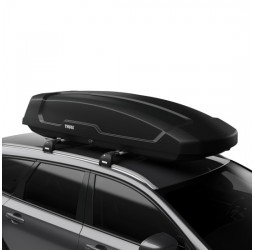 Force XT (500L) Car Roof Box - Black Aeroskin