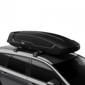 Force XT (500L) Car Roof Box - Black Aeroskin