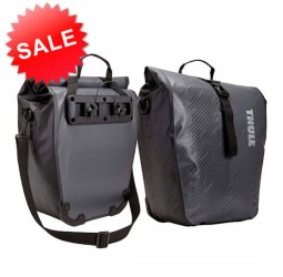 Thule Shield Pannier Bags - Large - Dark Shadow
