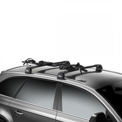 thule proride black 598 cycle carrier towing equipment. Black Bedroom Furniture Sets. Home Design Ideas