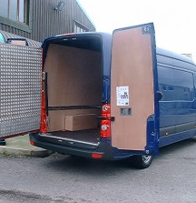 Heavy Duty Swivel Ramp for access to Load Area