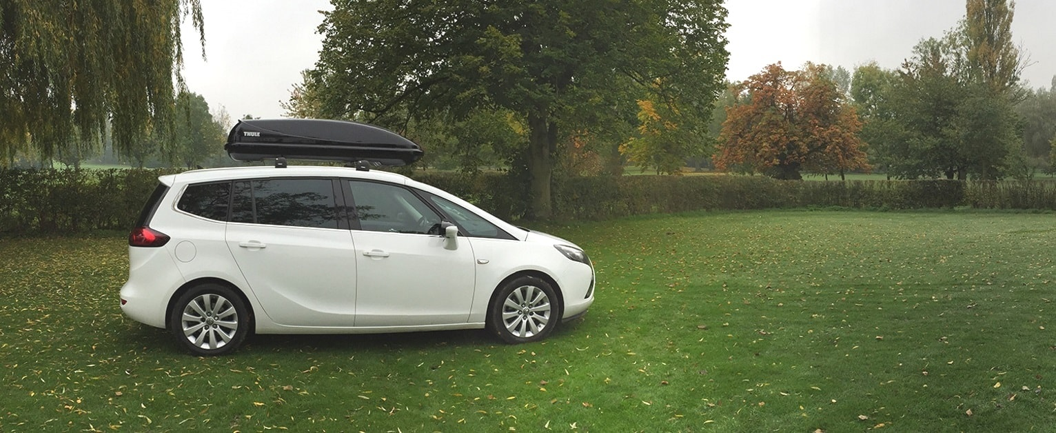 Thule Roof Boxes Banner
