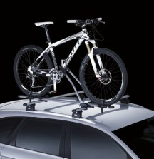 Thule FreeRide 532 Bike Carrier on Car