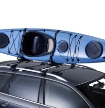 Thule Hull-a-Port Kayak Carrier on car