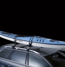 Thule Hydroglide Kayak Carrier on car