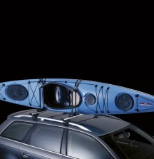 Thule Kayak Support on car - carries 2 Kayaks