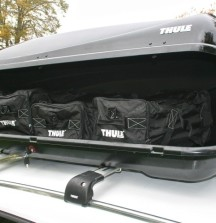 Thule Ocean 200 Roof Box - 450 Litre - Single Side Opening