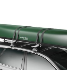 Thule Portage Canoe Carrier on car