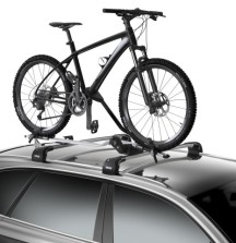 Thule ProRide 598 Bike Carrier on Car