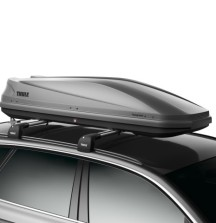 Thule Touring 600 Roof Box - 300 Litre Half Width - Single Side Opening
