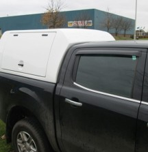 Double Cab Canopy with Gull Wing Sides on Ranger