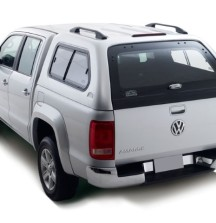 Double Cab Canopy with Sliding Glass Side Windows on Amarok
