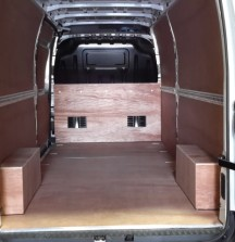 Ply Lining - Renault Master - 12mm floor and bulkhead 6mm walls