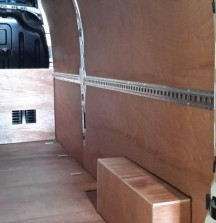 Ply Lining - Renault Master with Cargorail