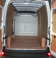 Ply Lining - Renault Master - 12mm floor and wheel arches 6mm walls