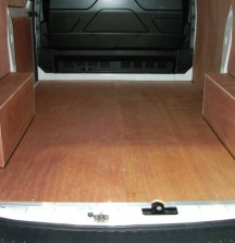 Ply Lining - Ford Transit Custom - 12mm floor and wheel arches