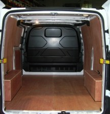 Ply Lining - Ford Transit Custom - 12mm floor and wheel arches 6mm walls