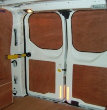 Ply Lining - Ford Transit Custom - 6mm rear door panels