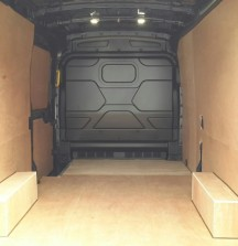 Ply Lining - Ford Transit - 12mm floor and wheel arches 6mm walls