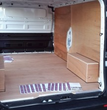 Ply Lining - Opel Vivaro - 12mm floor and wheel arches 6mm walls
