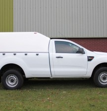 Single Cab Canopy on Ranger