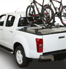 Mountain Top Tonneau Cover with Bicycle Carriers attached to Cargo Carriers