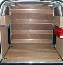 Van Shelving Citroen Berlingo - Shelves