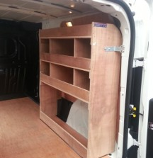 Van Shelving Opel Combo - Right Side Shelving