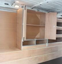 Van Shelving Renault Master - Cupboard