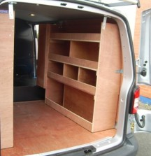 Van Shelving VW T5 - Right Side