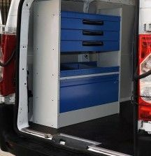 3 Drawer Unit 1000mm Fiat Scudo - Syncro