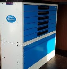 6 Drawer Unit 1000mm - Syncro