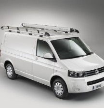 Aluminium Roof Rack and Pipe Tube on VW Transporter - Rhino