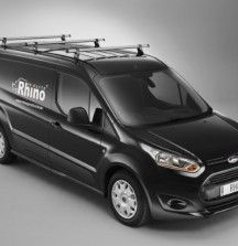 Delta Bar Roof Bars on Ford Transit Connect - Rhino