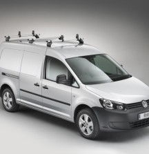 KammBar Roof Bars on VW Caddy - Rhino