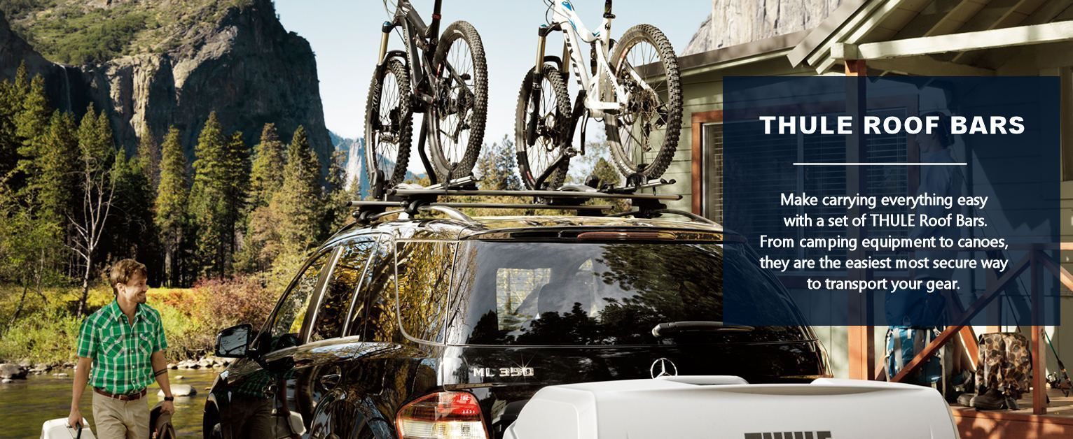 Thule Roof Bars - make carrying easy