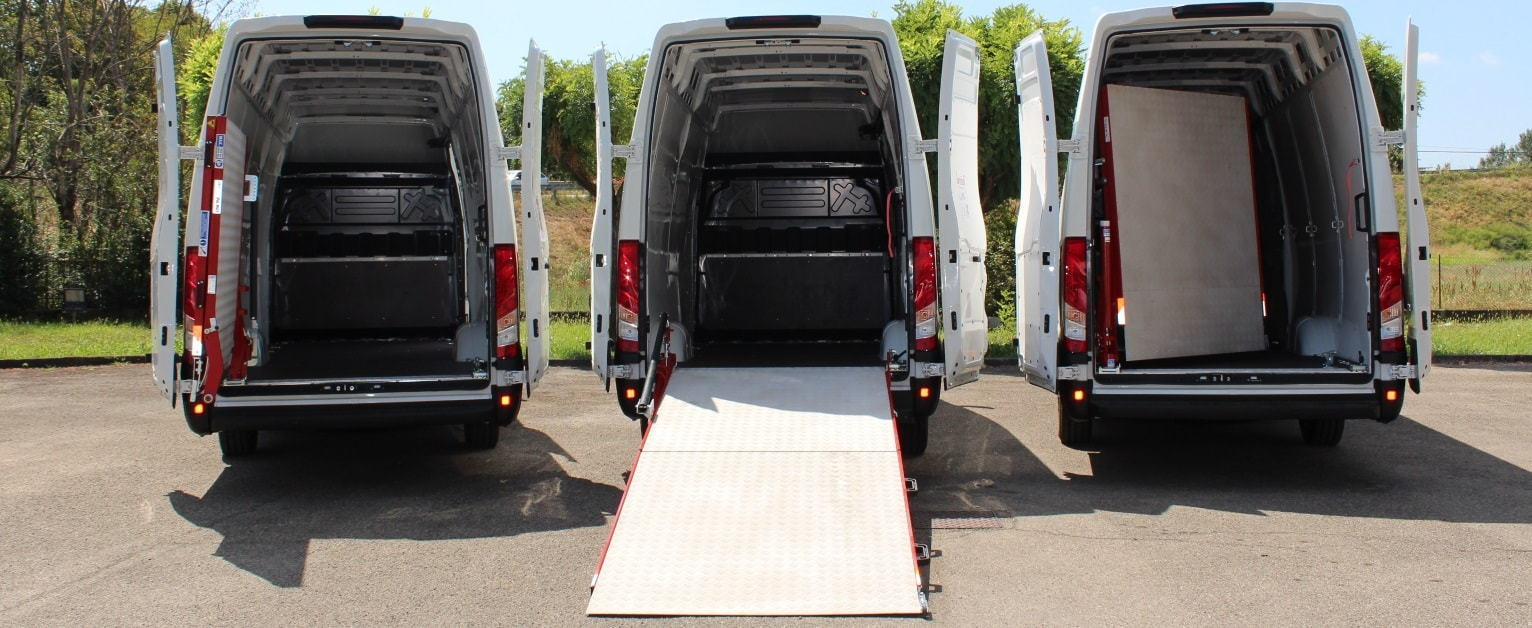 Van Loading Ramps Banner