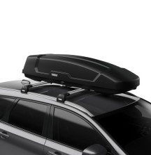 Thule Force XT Sport Roof Box - 300 Litre - Half Width - Double Sided Opening